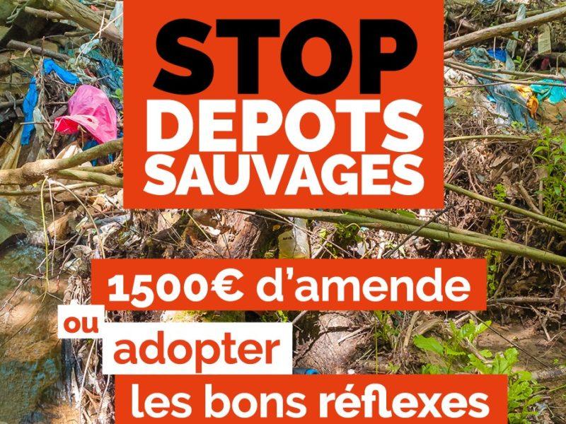 Stop aux dépôts sauvages ! 🛑